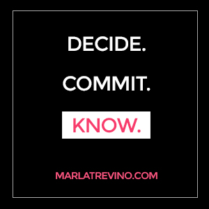 Decide. Commit. Know.